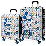 Colors Luggage Set, 69 cm, 119 liters, Multicolour (Multicolor)