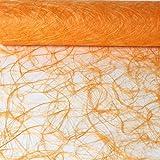 Sizoweb Tischband Apricot 25 Meter lang 20cm breit