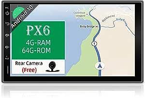 Joyx Px6 Android 10 Doppel Din Autoradio Mit Gps Navi Elektronik