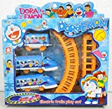 #6: west feen Electric Toy Train for Kids - Doremon Train Set