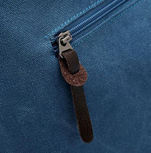 Retro-Leinwand Schräg Weibliche Tasche Schultertasche Neutral Retro Einfach Purple