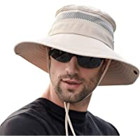 SIYWINA Cappello da Pescatore per Pesca Cappelli Uomo Estivo con Protezione UV