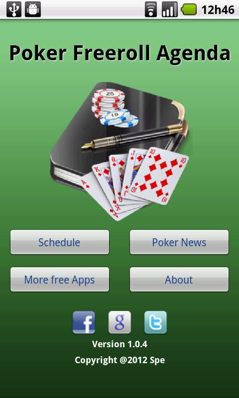 Application pmu poker pour android
