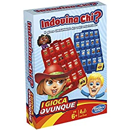 Hasbro Gaming – Indovina Chi? Travel (Gioco in Scatola), B1204103