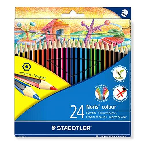 Staedtler 185 C24 Noris Colour Colouring Pencil