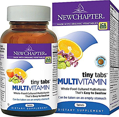New Chapter, Tiny Tabs, Whole-Food Complexed Multivitamin, 192 Tablets NCR-00362