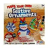 Grafix Mache Deine Eigene Weihnachten Ton Deko Basteln - 10 Deko Selbermachen, Farben, Glitzer Klebstoffe, Band