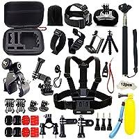 Iextreme Kit Accessori per la macchina fotografica Gopro, per il