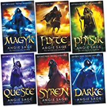 Septimus Heap Collection 6 Books Set Pack (Darke, Magyk, Flyte, Physik, Queste, Syren) (Wizard Apprentice Series Collection) (1-6)