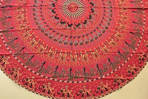 runde-tapestry-tischdecke-ethnische-hand-gedruckte-red-beach-blatt-baumwollgewebe-70-zoll