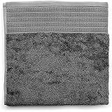 ELVANG Graues Frottee Handtuch 100% ägyptischer Baumwolle, 40x60cm u. 50x100cm (50 cm x 100 cm)