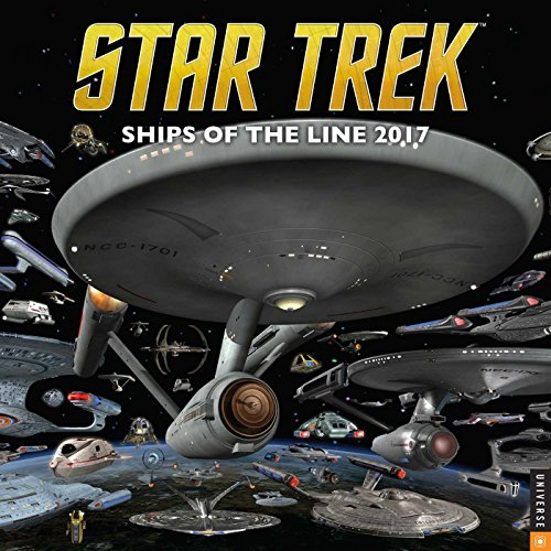 Star Trek 2017 Wall Calendar: Ships of the Line