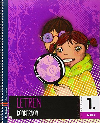 Letren koadernoa 1