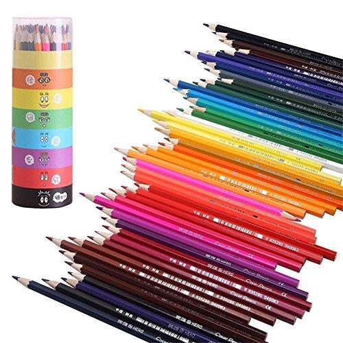 GYOYO 48 Farben Buntstifte Farbstifte Colour Pencils für Kinder Malerei,Wachsmalstifte...