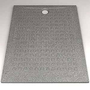 Receveur rectangle Noir RESIBAC – 90*120 cm
