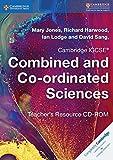 Cambridge IGCSE® Combined and Co-ordinated Sciences Teacher's Resource DVD-ROM (Cambridge International IGCSE)