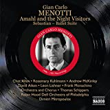 Gian carlo menotti amahl and the night visitors