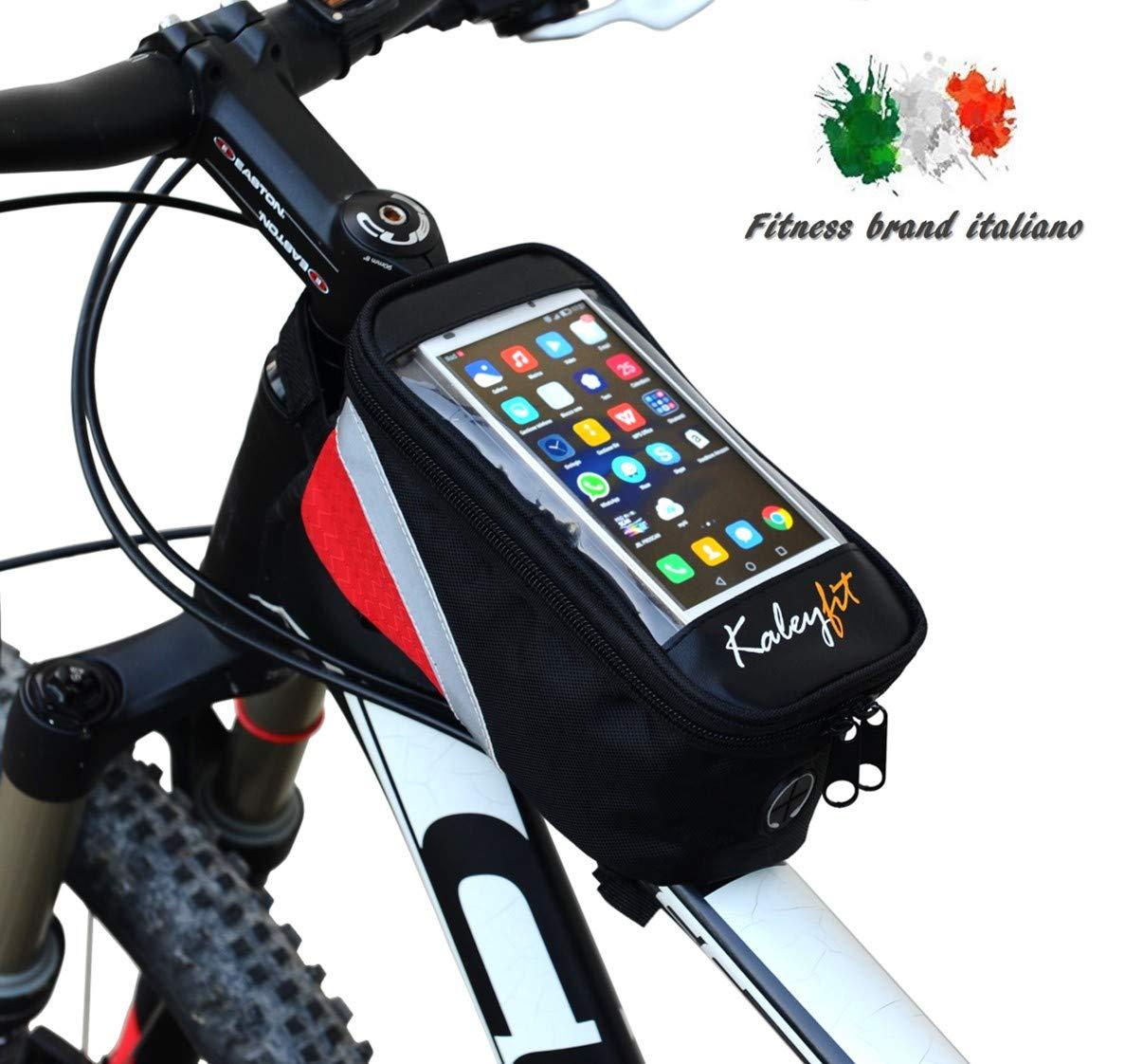 Uni Anteriore Bici Bicicletta Manubrio Borsa Impermeabile Borsa Cellulare IT