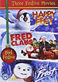 Jack Frost , Happy Feet, Fred Claus
