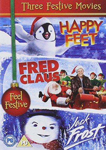 Preisvergleich Produktbild Jack Frost , Happy Feet, Fred Claus [UK Import]