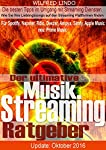Mit Spotify Special! Neu: Apple Music & Prime MusicDer ultimative Musik Streaming RatgeberMusik liegt in der Luft. Musste noch vor wenigen Jahren die Musik per Tonträger teuer bezahlt werden, kommt sie nun online für einen kleinen monatlich Betra...