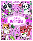 Cool & Calm Colouring for Kids: Baby Animals