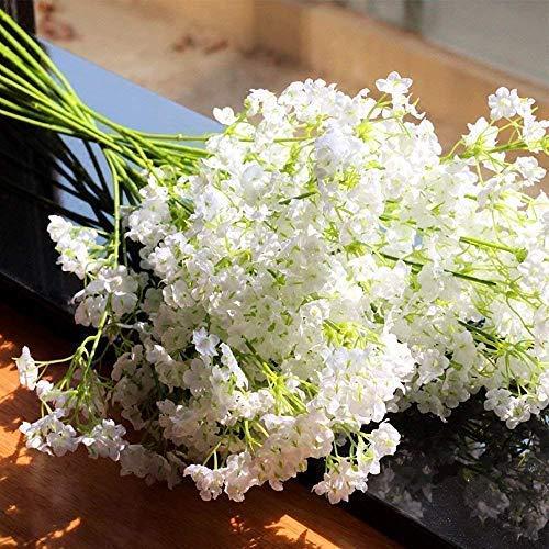 Hommini Flores Artificiales,Gipsófila Artificial Decoración