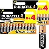 24x DURACELL Plus MN1500 AA Batteries Long-Dated (Total Qty=24)