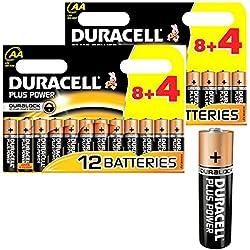 Duracell MN1500 - Lote de 24 pilas alcalinas tipo AA (1,5 V)