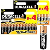 24x Duracell MN1500 Plus Power AA Double A Size Remote Battery Batteries