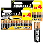 24x DURACELL Plus MN1500 AA Batteries...