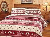 Smartsupershop Angebot komplett Bettwäsche Doppelbett Tiroler–in Italienischer Baumwolle–Made in Italy Qualitätsprodukt