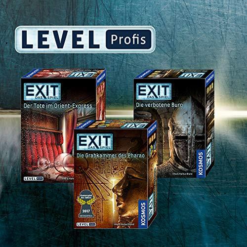 KOSMOS Spiele 692698 – Exit – Das Spiel, Die Grabkammer des Pharao, Kennerspiel des Jahres 2017 - 4