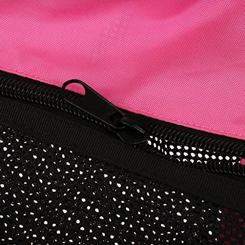 Gazechimp Tauchtasche, leicht, groß, praktisch - Netztasche Rosa