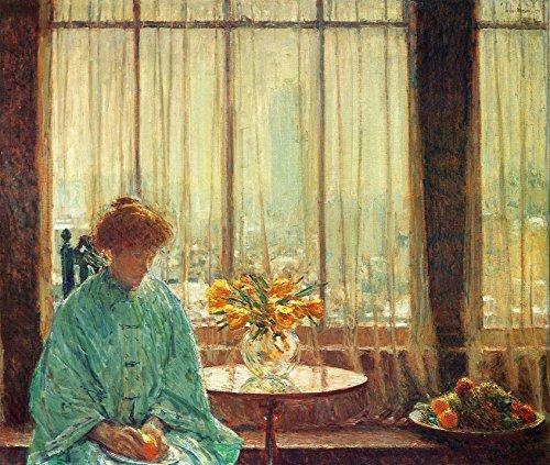 Das Museum Outlet-Der Frühstücksraum, Winter Morning, 1911-Leinwanddruck Online kaufen (101,6x 127cm) -