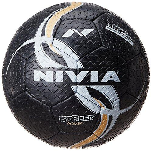 Nivia StreetFootball, Size 5 (Black)