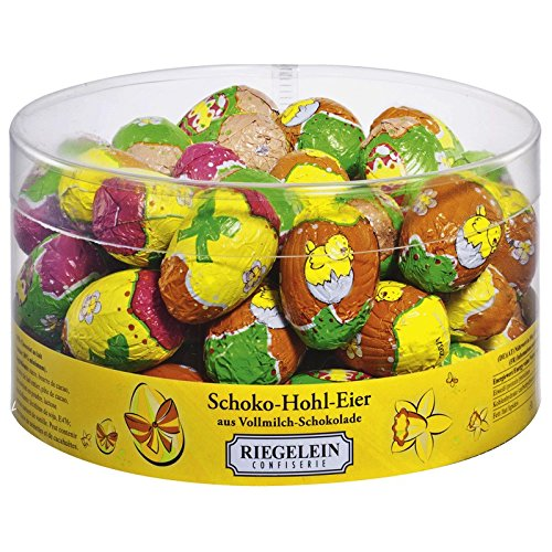 Ostern Schoko - Hohl - Eier (4 g / 50 Stück) VOLLMILCH - SCHOKOLADE