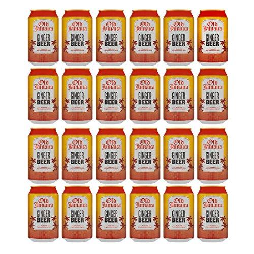 Old Jamaica Ginger Beer 24x 330ml - alkoholfreies Ginger Beer (Beer Ginger Jamaica)