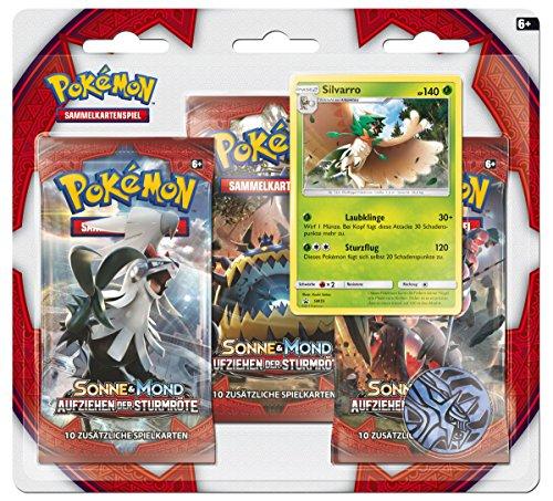 Pokemon 25971 Pokémon Company International Pkm SM04 3-Pack Blister DE