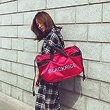 RANBAOBAO Damen Reisetasche Mode Große Kapazität Handgepäck Taschen Frauen Kordelzug Sport Fitness Aufbewahrungstasche Wochenende Taschen
