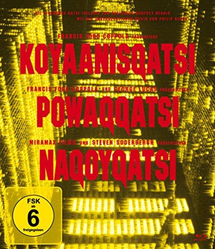 Die Qatsi Trilogie - Koyanisqatsi, Powaqqatsi, Nagoyqatsi - Remastered Edition [Blu-ray] Botschaft Usa