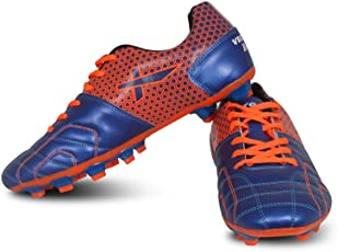 Vector X Breeze Football Shoes (Blue-Orange)