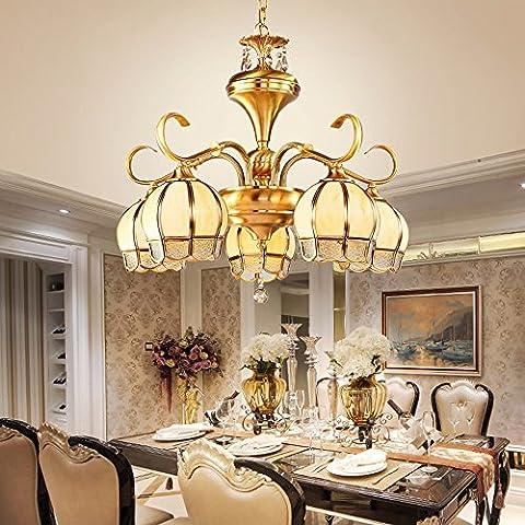 GZLitht Lampes Suspendues Pendentif Le restaurant Copper Toutes les chambres accueillantes de l'étude