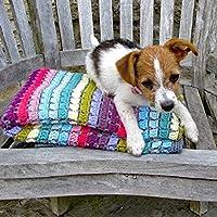 Vintage Rainbow Crochet Blanket Kit