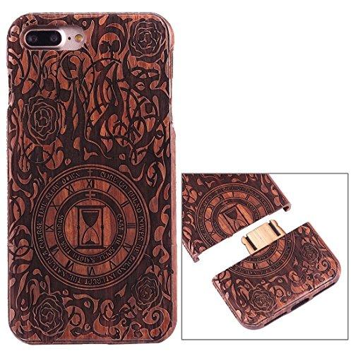 Hülle für iPhone 7 plus , Schutzhülle Für iPhone 7 Plus Rosewood Schützende Rücken Trennbare Artistic Carving Tiger Kopf Muster Fall Shell ,hülle für iPhone 7 plus , case for iphone 7 plus ( SKU : Ip7 Ip7p1450d