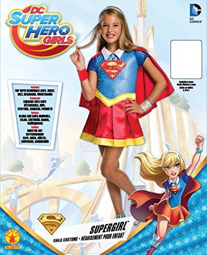 Imagen de supergirl  disfraz infantil deluxe, m rubie's spain 620714 m  alternativa