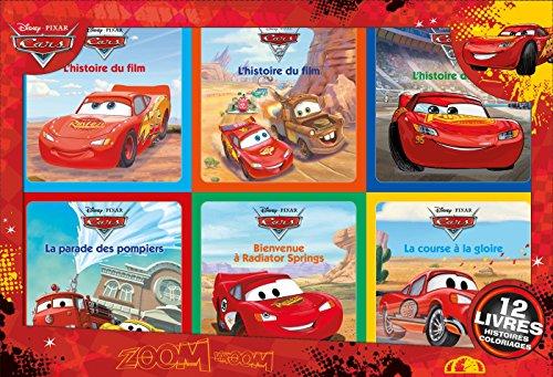 CARS - Coffret 12 Livres