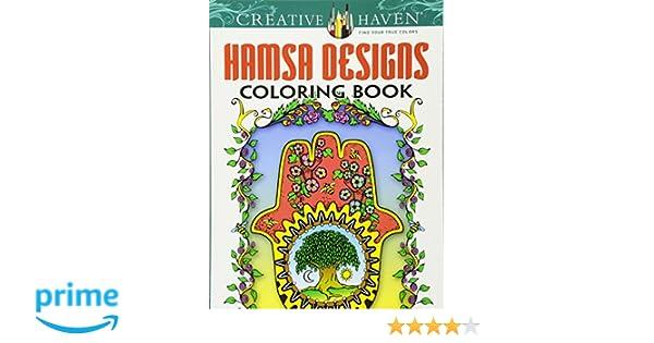 Creative Haven Hamsa Designs Coloring Book Books Amazoncouk Mary Agredo