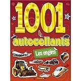 LES ENGINS - 1001 AUTOCOLLANTS