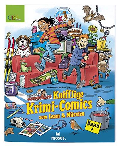 Redaktion Wadenbeißer: Knifflige Krimi-Comics zum Lesen & Mitraten